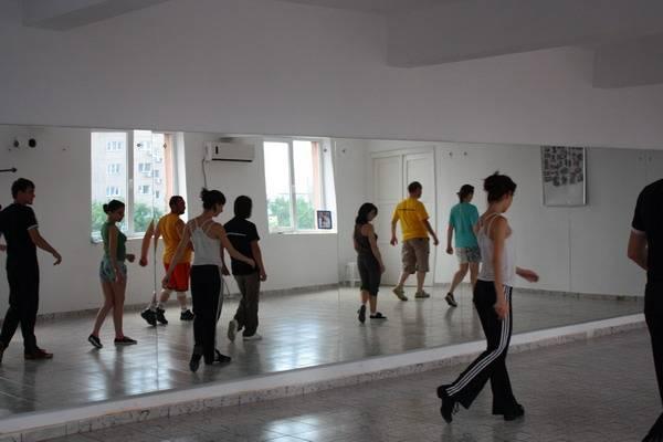 curs dans in pasi de dans