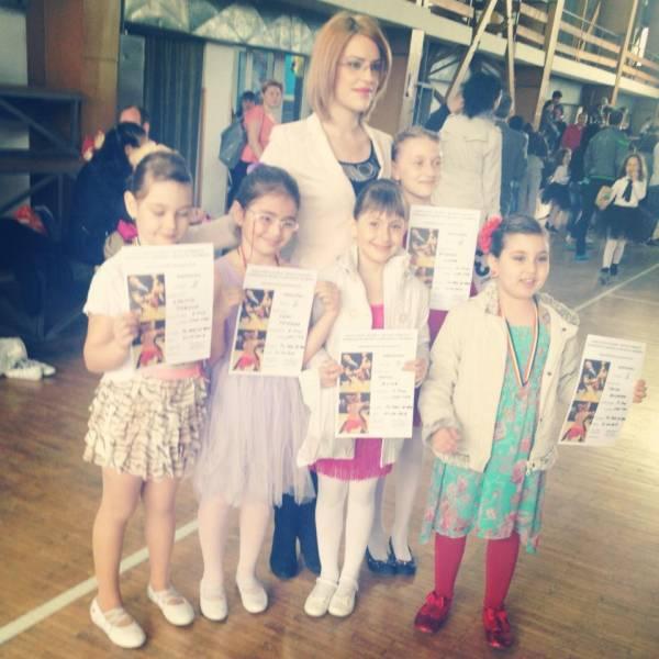 cursuri dans copii